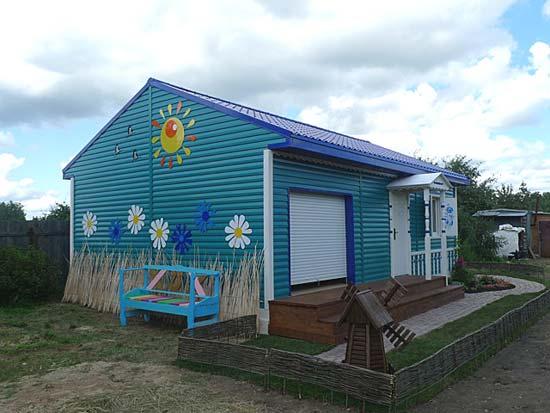 загородный быстровозводимый дом
