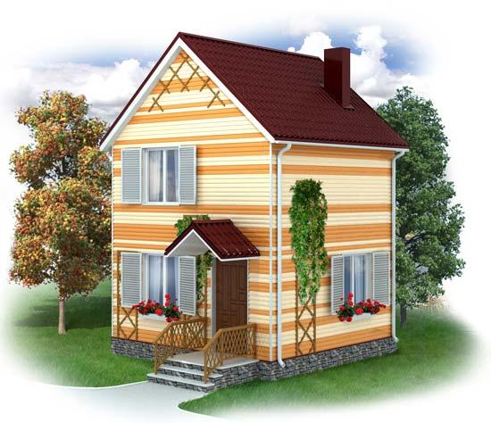 быстровозводимый дом