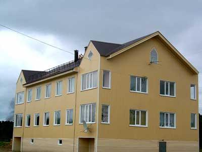 Сборный быстровозводимый дом
