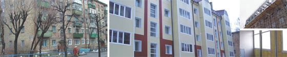 Реконструкция фасада с надстройкой мансардного этажа с увеличением площади в г. Екатеринбурге