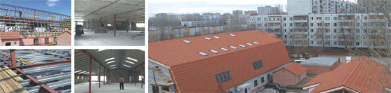 Реконструкция бильярдного клуба с надстройкой двухуровневой мансарды в г. Тольятти