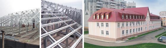 Реконструкция кровли с надстройкой мансардного этажа в г. Челябинске