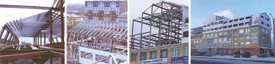 Надстройка двухуровневой мансарды в г. Красноярске