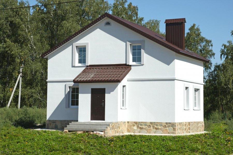 дом из инси блока
