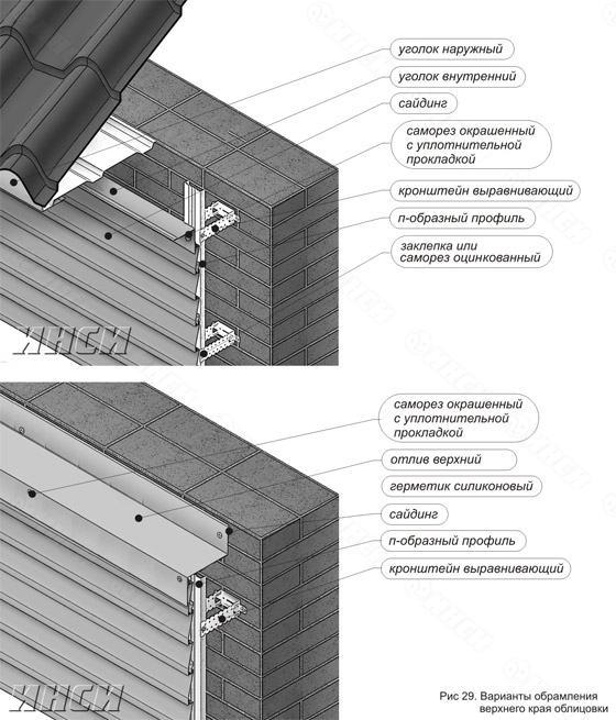 Сайдинг металлический инструкция по монтажу