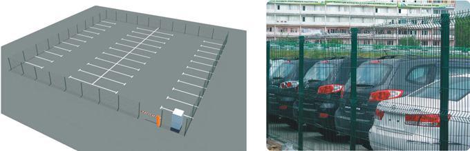 Автостояники, придворовые парковки